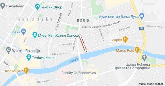 Jednosoban stan u ul. Novice Cerovića Banja Luka